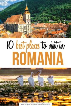 10 Best Places to Visit in Romania. Planning to travel to Romania? Here is a bucket list on everywhere you need to go while you are in Romania on vacation. All the best locations that you can't miss. Best Places to Visit in Romania | Romania Places to Visit | Top Places to Visit in Romania | Where to go in Romania | Romania Travel Guide #romania #romaniatravel #placestovisit