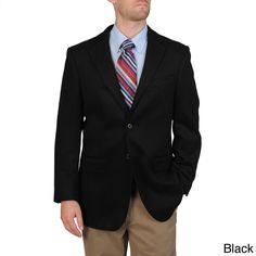 Pronto Moda Men's Wool/ Blend Sportcoat (-36R)