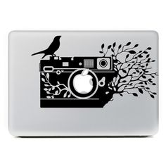 """Amazon.com: iCasso Tree Camera Removable Vinyl Decal Sticker Skin for Apple Macbook Pro Air Mac 13"""" inch / Unibody 13 Inch Laptop: Computers & Accessories"""