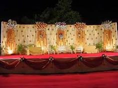 10 Fabulous Wedding Reception Stage Decor Ideas in Nigeria Indian Wedding Stage, Outdoor Indian Wedding, Indian Wedding Planner, Indian Weddings, Mexican Wedding Centerpieces, Wedding Decorations On A Budget, Wedding Ideas, Wall Decorations, Wedding Mandap