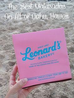 Leonard's Bakery - Delicious Malasadas in Honolulu, Hawaii. Oahu, Hawaii. Best Malasadas in the world.