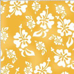 Hawaiian Sunshine Fabric Yard