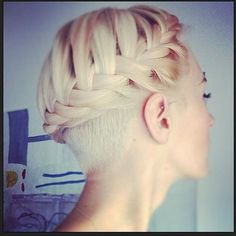 10 Sexy and Sharp Looking Pixie Undershave Cuts For Girls.  Consolidated 10 hairstyles for a hair lookbook. Helpful when heading to the hair salon. :)