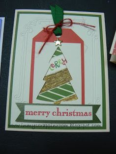 In My Scrappin' Room: November 2015 CTMH Cross Canada Blog Hop - Christmas cards