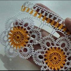 Crochet Flower Tutorial, Crochet Flower Patterns, Crochet Flowers, Crochet Cord, Filet Crochet, Crochet Shawl, Bobbin Lace Patterns, Diy And Crafts, Crochet Earrings