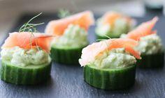 Cucumber Canapes 2