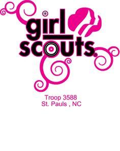 gs troop 3588   Girl Scouts T-Shirt Design Studio