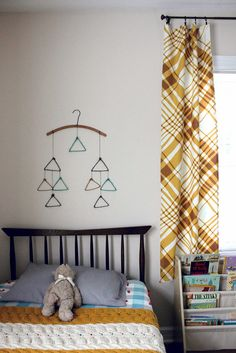 Shared kids room by Rachel Denbow of Smile and Wave