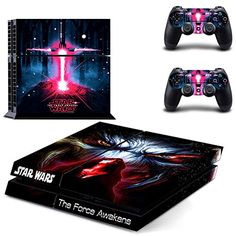 STAR WARSDesigner Skin for Sony PlayStation 4 Console System plus Two2 Decals for PS4 Dualshock Controller -- Click on the image for additional details.Note:It is affiliate link to Amazon.