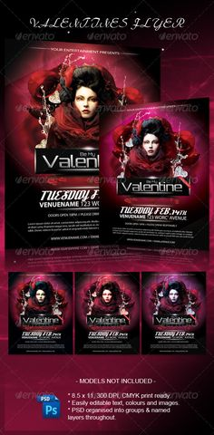 308 Best Valentine S Flyer Templates Images Party Flyer Club