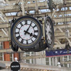 The Clock at Waterloo Station