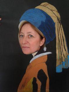 We portray famous paintings Dutch Golden Age, Johannes Vermeer, Famous Artwork, Ppr, Dutch Painters, Girls Wear, Art History, Art Girl, Holland