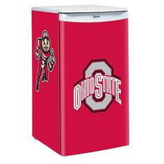 Ohio State Buckeyes Compact Fridge #DreamDorm2012 #Protect-A-Bed