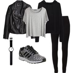 Adidas ZX Flux Outfit - Polyvore
