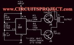 3000 watt power inverter 12V DC to 230V AC | Nonstop-Free Electronic Circuits Project Diagram and Schematics