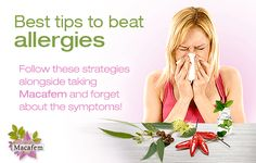 Combining these strategies can help you make it through this and the following springs, in which perimenopause may bring you harsher allergies. In the meantime, fixing the underlying hormonal disarray with Macafem will help you make all the different menopause symptoms much milder and easier to deal with. http://www.macafem.com/blog/tips-defeating-allergies-alongside-macafem/