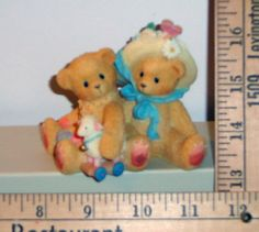 Enesco 1999 Cherished Teddies Bears Bear Chelsea And Daisy #597392