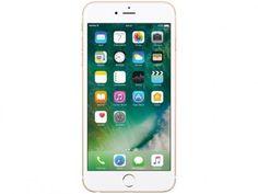 """iPhone 6s Plus Apple 128GB Dourado 4G Tela 5.5"""" - Retina Câm. 12MP + Selfie 5MP iOS 10 Proc. Chip A9 com as melhores condições você encontra no Magazine Luizadoeduardo. Confira!"""