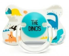 #Sucette total look fusion #Suavinex 4-18 mois dinosaure multicolore