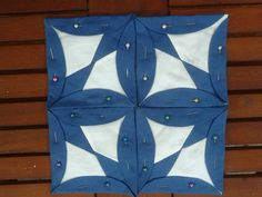 added pin for image inspriation only Quilting Tutorials, Quilting Projects, Quilting Designs, Machine Embroidery Designs, Quilt Block Patterns, Quilt Blocks, Cathedral Window Quilts, Cathedral Windows, Quilts