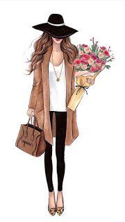 خلفيات رقيقة جدا للبنات Fashion Sketches Fashion Illustration Illustration Fashion Design