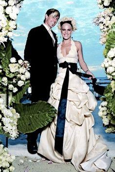 Pink and Carey Hart, 2006  #Wedding