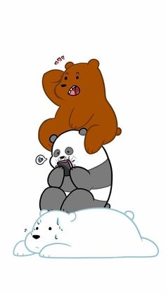 We Bare Bears Wallpapers Wallpaper Cave throughout The Most Brilliant We Bare Bears Wallpaper Hd Portrait - All Cartoon Wallpapers Wallpaper Iphone Disney, Cute Disney Wallpaper, Kawaii Wallpaper, Cute Wallpaper Backgrounds, We Bare Bears Wallpapers, Panda Wallpapers, Cute Cartoon Wallpapers, Polar Bear Images, Cartoon Network Characters