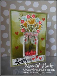 Stampin' Up! In de Spotlight: Jar of Love (schudkaart)