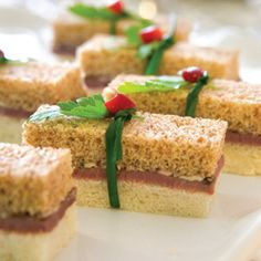 Teatime Finger Sandwiches I've made these and they are seriously delicious!! - Laura