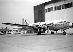 C-54C the first plane used as Air Force One by President Roosevelt