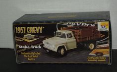 NEW 1997 Ertl 1957 Chevy Stake Truck Stock Number 3042CO #Ertl #Chevy