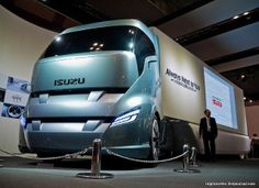 concept truck that proposes Isuzu's