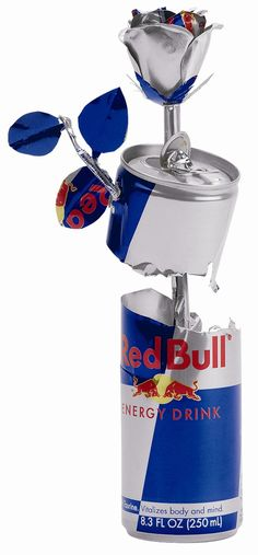 Red bull art almost as beautiful as the taste
