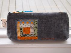 pouch for pretty {little} pouch swap by Spotted Stone Studio {Krista}, via Flickr
