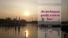 #Ruhe ? Bitte! #Relaxation ? Of course!  #Außenalster