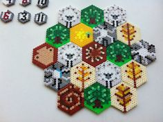 Game tiles of Catan | Flickr - Photo Sharing!