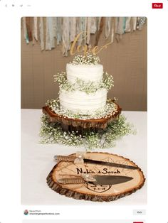 Rustic Country Wedding Cakes for The Perfect Fall Wedding - . - - Rustic Country Wedding Cakes for The Perfect Fall Wedding - - Country Wedding Cakes, Wedding Cake Rustic, Rustic Weddings, Vintage Weddings, Vintage Wedding Cakes, Wedding Table, Wedding Cake Base, Romantic Weddings, Wedding Ceremony