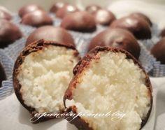 Cioccolatini al cocco (ricetta veloce)
