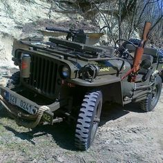 Fully Loaded #willys #jeep