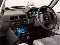 1983 nissan nrv ii concept - the future is now (or 30 years ago) / car interiors