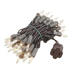 Novelty Lights 50 Light Clear Christmas Mini Light Set Brown Wire 11 Long ** Continue to the product at the image link. (This is an affiliate link) Christmas Minis, Christmas Presents, Christmas Lights, Works With Alexa, Seasonal Decor, Brown, Image Link, Wire, Ideas