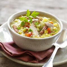 Soup Recipes, Healthy Recipes, Recipies, Soup And Salad, Tasty Dishes, Soups And Stews, Lunches, Kids Meals, Food And Drink