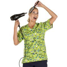 Casaca sanitaria unisex de microfibra estampada FASHION DOG - Gary's Unisex, Lily Pulitzer, Ideias Fashion, Button Down Shirt, Men Casual, Mens Tops, Shirts, Dresses, Women