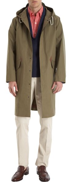104 Mackintosh Rubberized Rain Coat