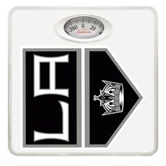 New White Dial Bathroom Weight Scale featuring Los Angeles Kings NHL Team Logo *** Check this awesome product by going to the link at the image.