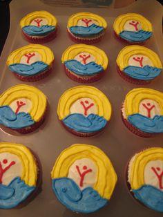 United way Cupcakes :)
