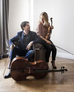 Violinist Julia Fischer and cellist Daniel Müller-Schott on sound projection - Violinist Julia Fischer and cellist Daniel Müller-Schott