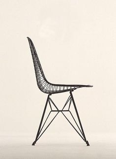 Experimental Wire and  Rod Chair Shell,  designed 1951.  Courtesy of Vitra Design Museum (F-31a)
