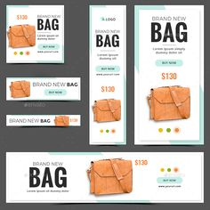 Buy Product Banners by Hyov on GraphicRiver. Promote your Products and services with this great looking Banner Set. Free Banner Templates, Layout Template, Art Design, Layout Design, Facebook Ad Size, Ticket Design, Best Banner, Display Ads, Banners