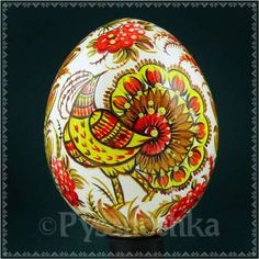 Real-Ukrainian-Pysanky-Petrykivka-chicken-Pysanka-Easter-Egg-High-Quality